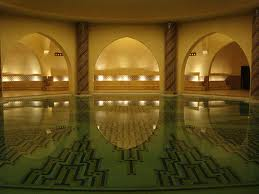 Hammam, healing waters, communal bathhouse, medicinal spa